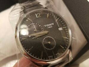 Tissot Tradition GMT Black Dial Men's Watch T0636391605700