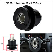 1PCS 360° Auto Car Steering Wheel Quick Release Disconnect Hub for 3 Hole Wheels