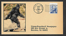Bigfoot 1967 Patterson Gimlin Film Collector's Envelope Mountain Monsters OP1221