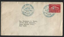 USA 1932 MOUNT VERNON 2c COVER UNITED FRUIT COMPANY SHIPPING CANCEL