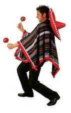 Mexican Polyester Dress Unisex Costumes