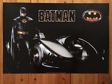 BATMAN 2, MICHAEL KEATON, RARE AUTHENTIC 1989 POSTER