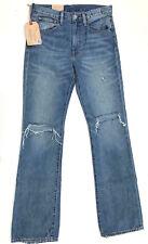 RALPH LAUREN 'HIGH RISE FLARE' Destroy Jeans W26 L30 NEW Womens DENIM & SUPPLY