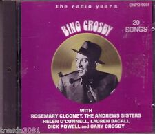 BING CROSBY Radio Years CD Great Duets HELEN O'CONNELL LAUREN BACALL ANDREWS