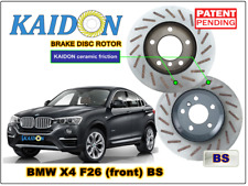 "BMW X4 F26 disc rotor KAIDON (front) type ""BS"" spec"