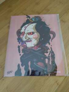 BAM! Saw Billy 8x10 Fan Art Print #1167/2500 Signed by Artist Kevin Flores COA