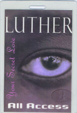 Luther Vandross 1996-97 Your Secret Love Tour Laminated Backstage Pass