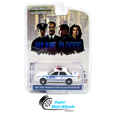 Greenlight 1:64 Hollywood - NYPD 2001 Ford Crown Victoria Police Interceptor