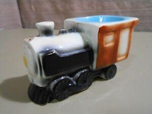 Vintage. Locomotive Egg Cup Ceramic