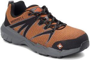 Merrell Men's Work, Fullbench 55 Alloy Toe Work Shoe