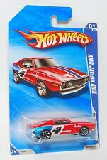 HOT WHEELS 2010 MUSCLE MANIA '71 AMC JAVELIN AMX GOOD YEAR RED #079