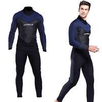 Men's Neoprene 3mm Wetsuit Full Body Warm Scuba Diving One-piece Skin Suit