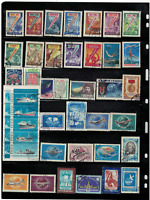 Russia.1958,1958... 72 st Mix. used 2 pages
