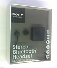Sony Sbh20-B Original Bluetooth Stereo Wireless Earbuds Headphones Headset Black