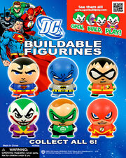 Vending Machine $1.00 Capsule Toys - DC Comic Buildable Figurines