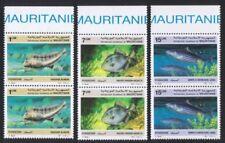 Fishing Mauritanian Stamps