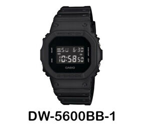 100% Authentic Casio G Shock DW-5600BB-1