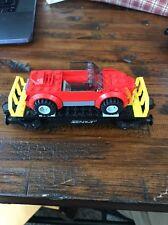 Lego City Green Cargo Train Car Flatbed + Car 60098/60052/7939/7898 Mint
