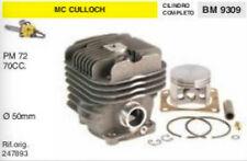 227893 CILINDRO E PISTONE MOTOSEGA McCULLOCH PM 72 pm72 70cc Ø 50 mm