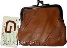 New Women's Leather Change Purse mini coin purse coin Wallet bag change case bn