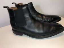 Allen Edmonds 10.5 Haight Chelsea Boots Black Elastic Slip On
