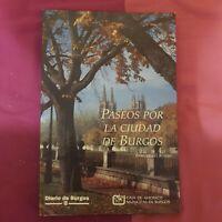 Libro Paseos por la ciudad de Burgos Diario de Burgos Enrique del Rivero viajes