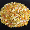 1/2lb Natural Golden Jade Tumbled Stones Bulk Crystal Reiki Healing Fish Tank