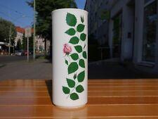Arzberg Germany 16 Vase 60er Rosendekor TRUE VINTAGE 60s designer porcelain