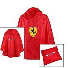PONCHO 193-600 Lightweight Raincoat Formula One 1 Scuderia Ferrari F1 Team NEW