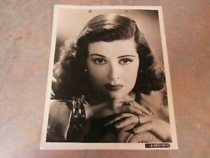 "VINTAGE ORIGINAL 1943 JOAN BENNETT HOLLYWOOD PUBLICITY PHOTO 8"" X 10"""