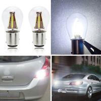 4LED Filament 1157 BAY15D 21/5W Car Reverse Backup Stop Brake Light Bulb Durable