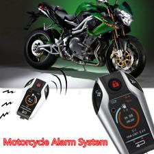 Motorcycle PKE 2 Two Way Anti-theft Remote Engine Start Sensing Alarm System KEY