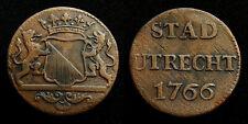 Netherlands / Utrecht - Duit 1766 ~ CNM 2.44.22