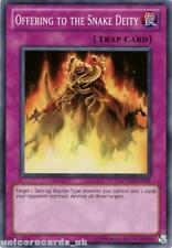LCGX-EN221 Offering to the Snake Deity Common UNL Edition Mint YuGiOh Card