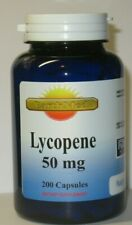 Lycopene 50mg 200 Capsules High Potency  Promotes Prostate & Heart Health