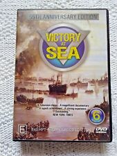 VICTORY AT SEA – DVD, 6-DISC SET, REGION-ALL, LIKE NEW, FREE POST SHIPPING