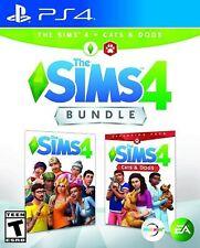 Los Sims 4 Plus Gatos y Perros Bundle-Sony PS4-Nuevo y Sellado