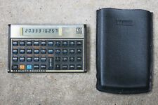 HP 12C Financial Calculator with Case