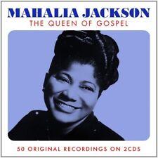 MAHALIA JACKSON - QUEEN OF GOSPEL 2 CD NEUF