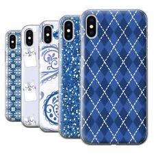 Étuis, housses et coques bleus iPhone X pour téléphone mobile et assistant personnel (PDA)
