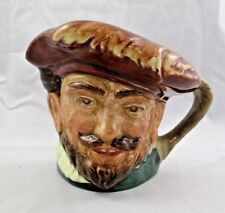 """Vintage Miniature Royal Doulton Toby Mug / Jug Sir Francis Drake """"A"""" Mark"""