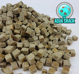 Freeze Dried Tubifex Cubes Worms Fish Food - Tropical Cichlid Goldfish Discus