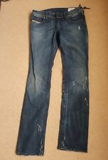 Mesdames DIESEL LOWKY Jeans Taille 10 Taille 28 Jambe 32 entièrement neuf sans étiquette