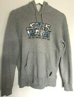 Womens Hoodie Size 10 Size S Grey Star Wars May The Force Be With You UNIQLO