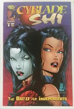 CYBLADE SHI 1 - Signed W/COA by Bill Tucci - 9.2 - 1st Appearance of Witchblade
