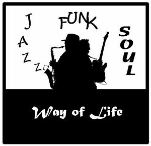JAZZ, FUNK & SOUL - SET OF SOUVENIR NOVELTY COASTERS - EASY CLEAN / GIFTS