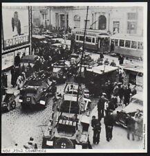 1976  --  MARSEILLE  NOVEMBRE 1942  LES ALLEMANDS SUR LA CANEBIERE   3P114