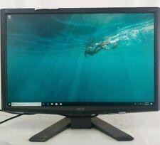 "Acer X223W 22"" Widescreen TFT LCD Monitor Grade B 1680x1050 VGA DVI Display"