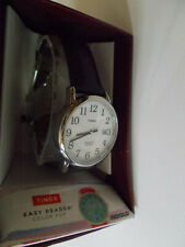 Timex men's Easy Reader 35mm watch works great near mint runs perfectly
