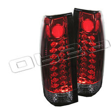 88-98 Chevy Suburban Tahoe LED Rear Tail Lights Lamp New Left+Right Set Pair New